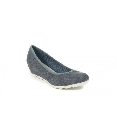 Дамски сини обувки на платформа S.Oliver 22300802