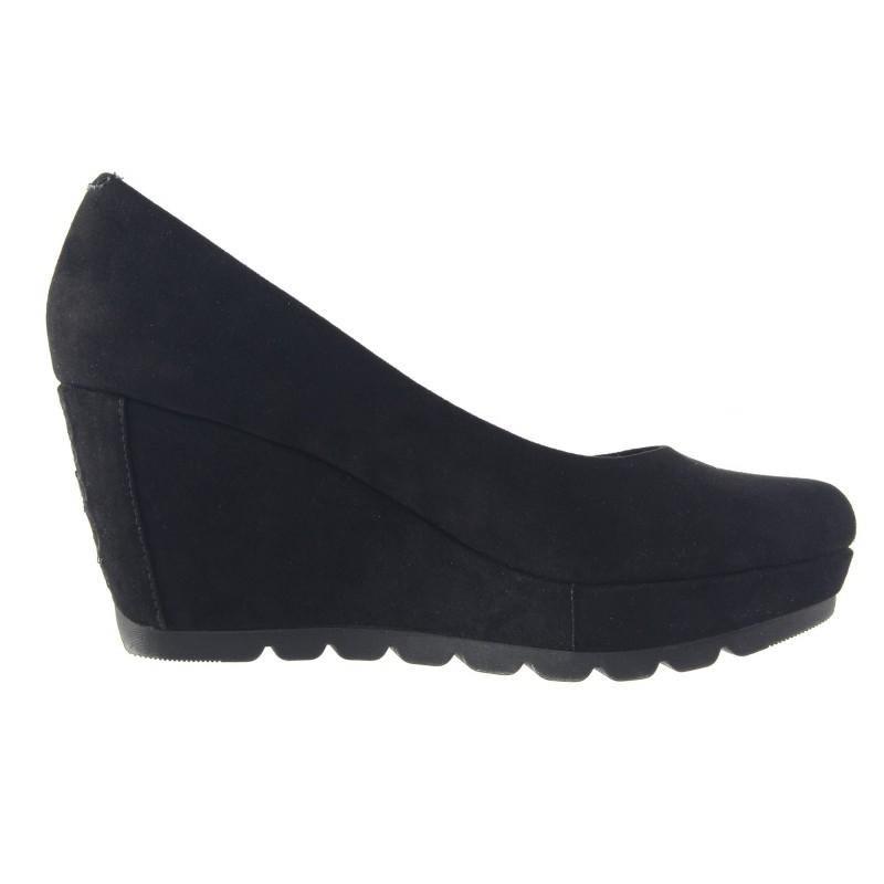 Дамски обувки на платформа S.Oliver черни 22428001