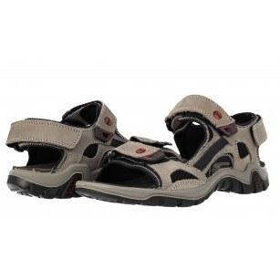 Мъжки спортни сандали естествена кожа Salamander сиви