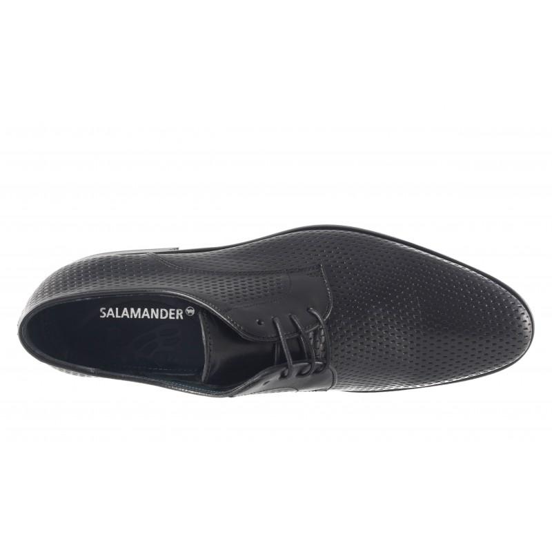 Елегантни мъжки обувки с връзки Salamander черни