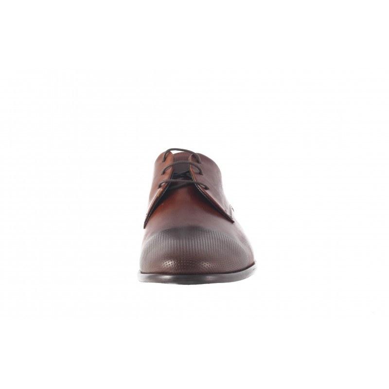 Официални мъжки обувки Salamander естествена кожа кафяви