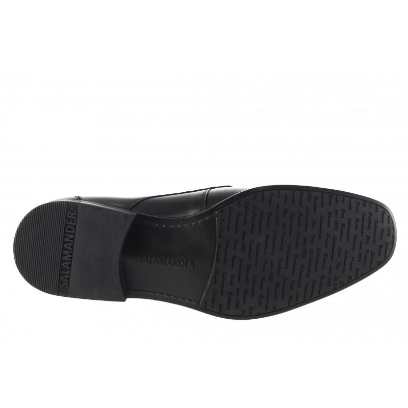 Елегантни мъжки обувки от естествена кожа Salamander черни