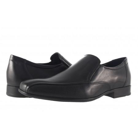 Официални мъжки обувки Salamander естествена кожа черни