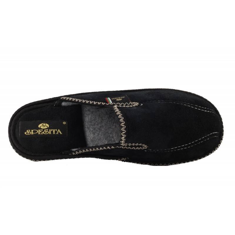 Дамски домашни чехли Spesita черни