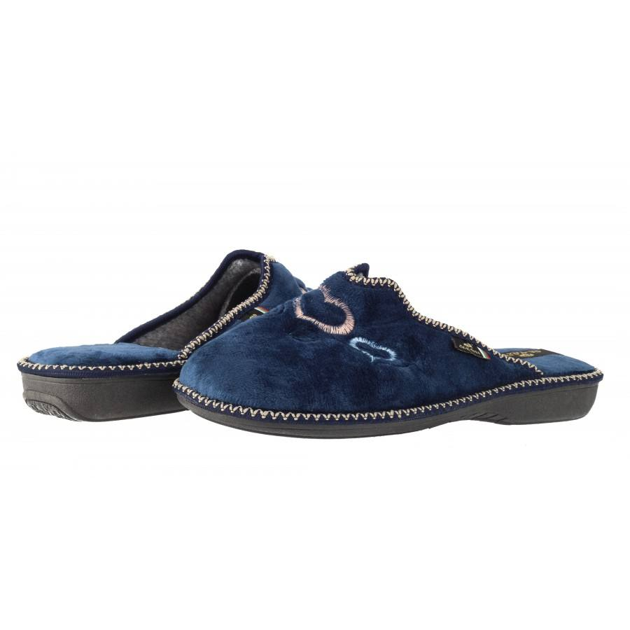 Дамски домашни чехли Spesita сини
