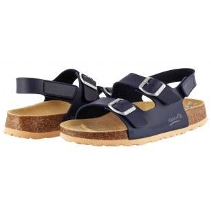 Ортопедични детски сандали за момче Superfit сини 25/36