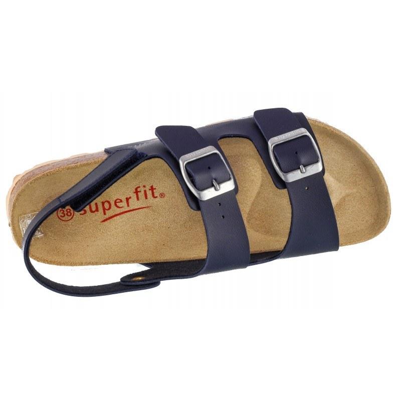 Ортопедични детски сандали за момче Superfit сини 36/39