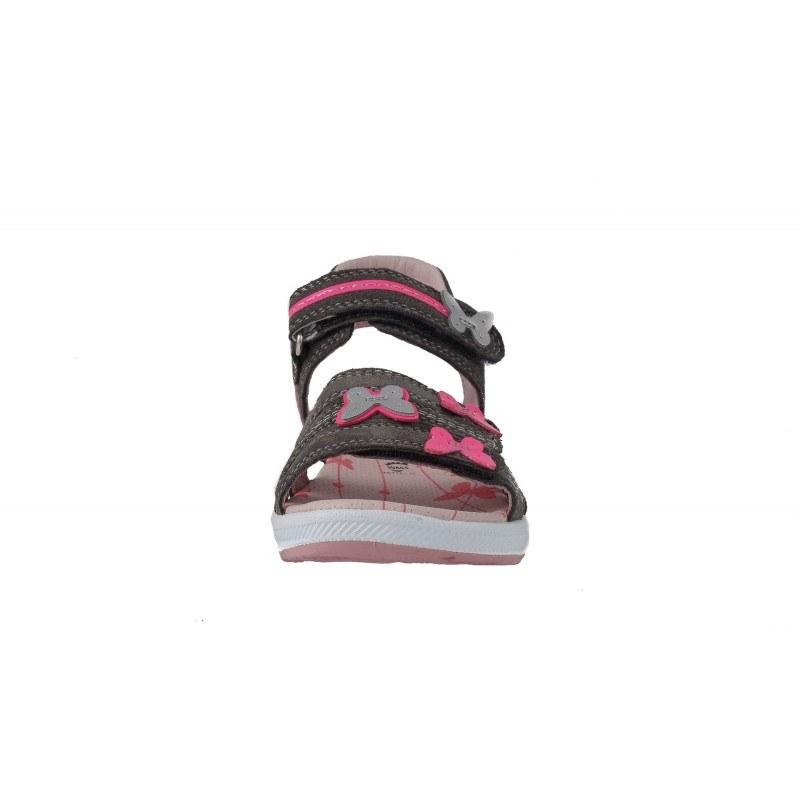Ортопедични детски сандали за момиче Superfit розови/сиви 26/30