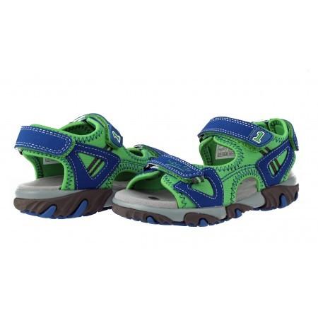 Детски ортопедични сандали за момче Superfit сини/зелени 26/30