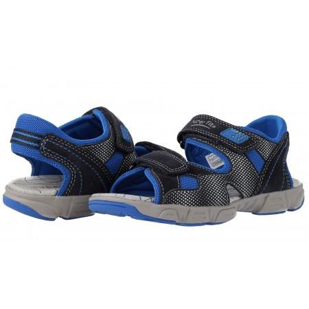 Ортопедични детски сандали за момче Superfit сини 31/35