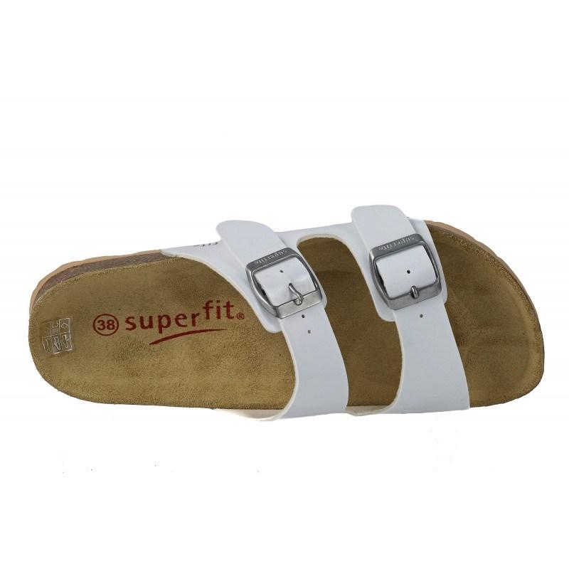 Ортопедични чехли Superfit бели 36/39