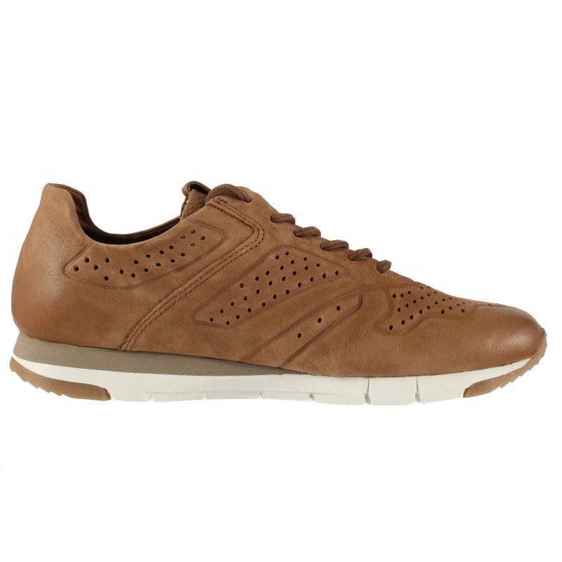 Дамски спортни обувки от естествена кожа Tamaris кафяви