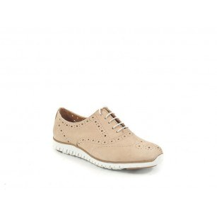 Дамски кожени обувки с мемори пяна Tamaris бежови 23636400