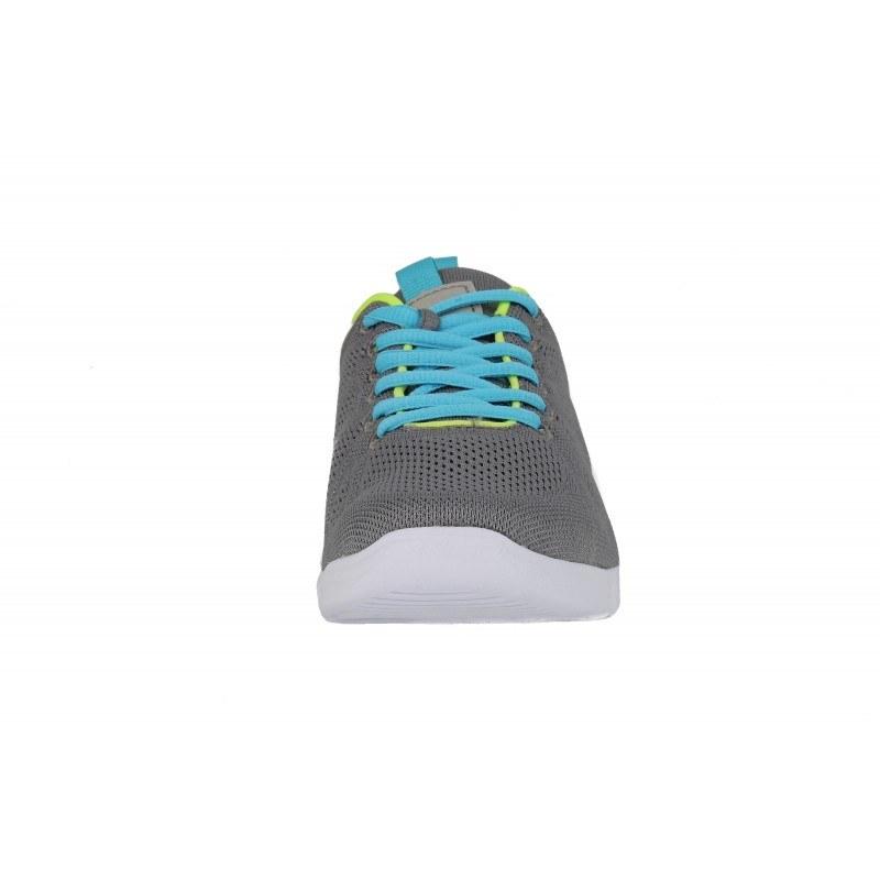 Дамски маратонки с Active стелка Tamaris сиви/зелени