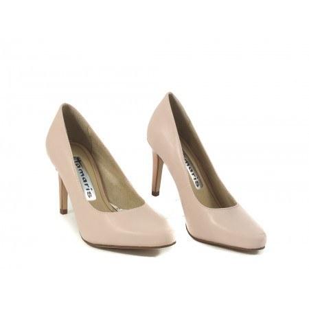 Дамски елегантни обувки на ток Tamaris розови 2431546