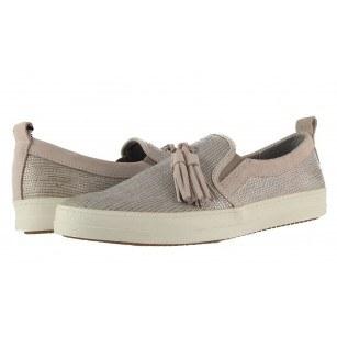 Дамски равни обувки естествена кожа Tamaris мемори пяна