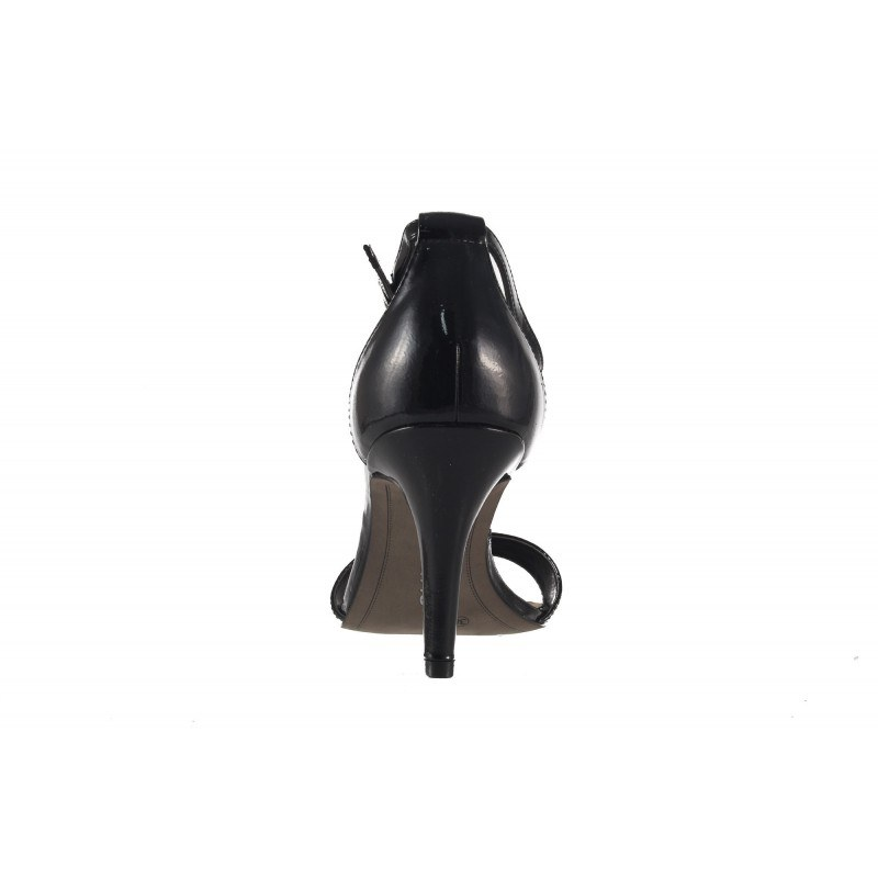 Дамски сандали на висок ток Tamaris черен лак 28392018