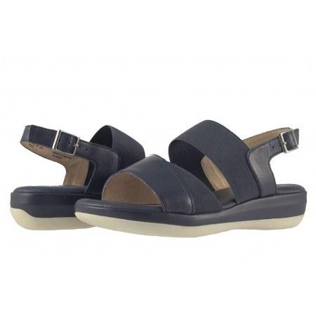 Дамски сандали на платформа Caprice сини 28701