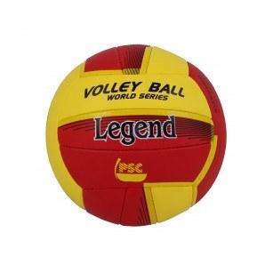 Волейболна топка Legend жълта/червена