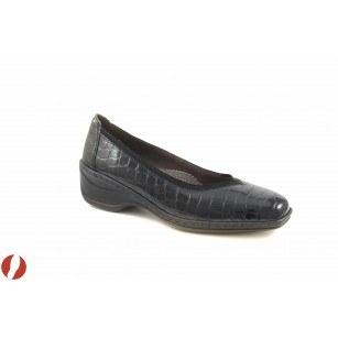 Дамски лачени обувки на платформа Ara-Jenny черни 6115005