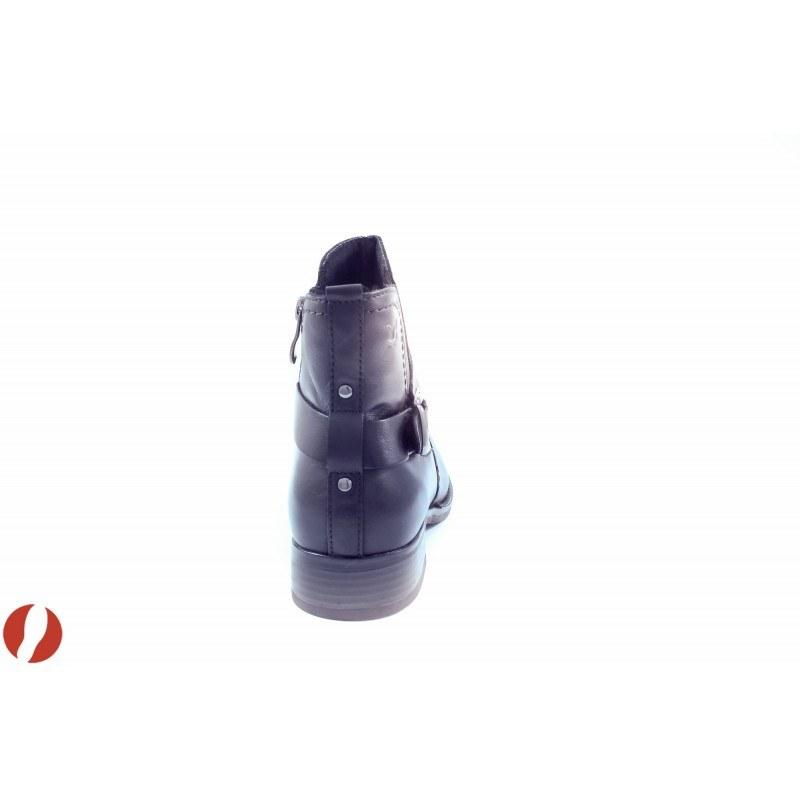Дамски кожени боти Caprice черни 25339001