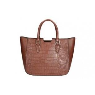Дамска чанта с две дръжки Clarks кафява Magnolia Bud