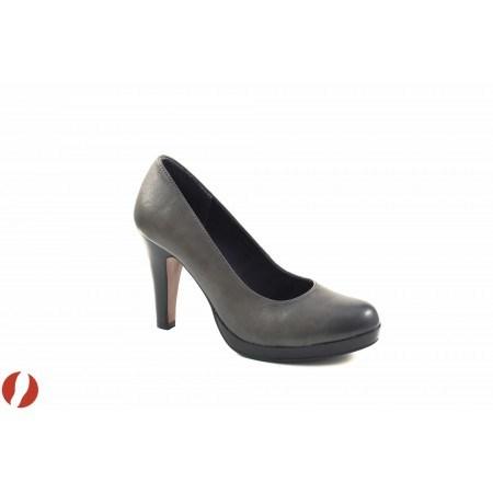 Елегантни дамски обувки на висок ток S.Oliver сиви 22409206