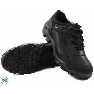 Мъжки кожени обувки с връзки Salamander черни 4580311