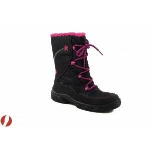 Детски апрески за момиче Superfit GORE-TEX® черно-лилави 0005902
