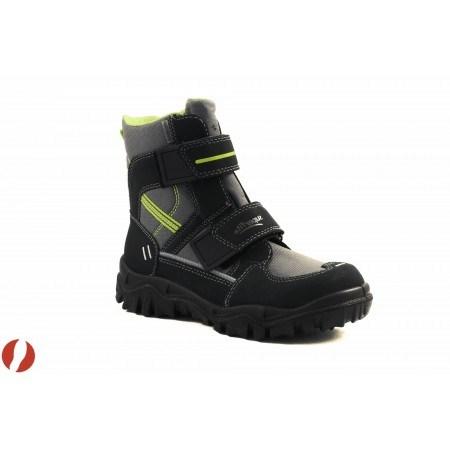 Детски апрески с велкро Superfit черно-сиви GORE-TEX 31/35