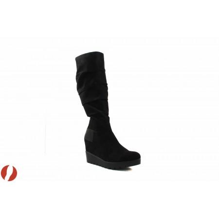 Дамски ботуши на платформа Tamaris черни 25624001