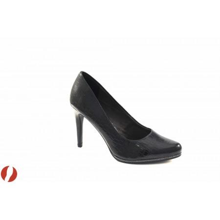 Елегантни дамски обувки на висок ток Tamaris черни 22444006