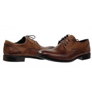 Мъжки обувки Rieker естествена кожа кафяви