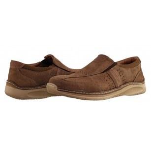 Мъжки ежедневни обувки без връзки Ara кафяви