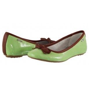 Дамски равни обувки S.Oliver балерина зелени Mint