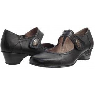 Дамски обувки на ток Jana Soft Line черни