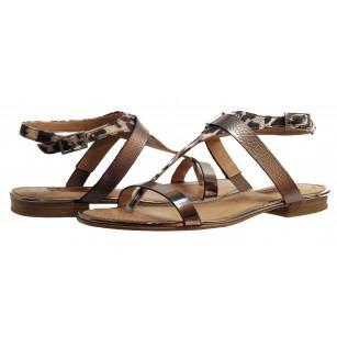 Дамски сандали S.Oliver leopard тъмни