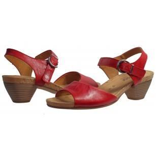 Дамски сандали на ток Gabor естествена кожа