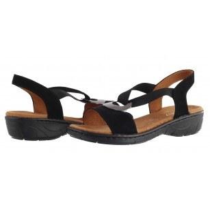 Дамски анатомични сандали Jenny Ara черни