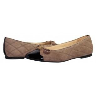 Дамски обувки естествена кожа Gabor сиви