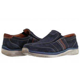 Мъжки ежедневни обувки без връзки Ara сини