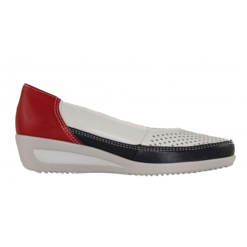 Дамски обувки на платформа от естествена кожа Ara ширина H