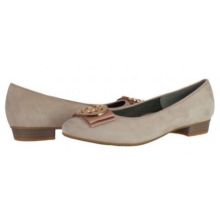 Дамски ежедневни обувки Ara  естествена кожа розови