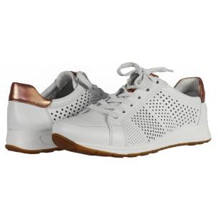 Дамски спортни обувки Ara естествена кожа бели