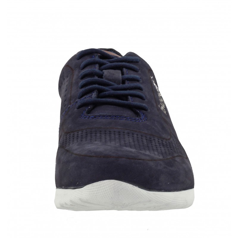 Мъжки спортни обувки Bugatti® естествена кожа сини Bambola
