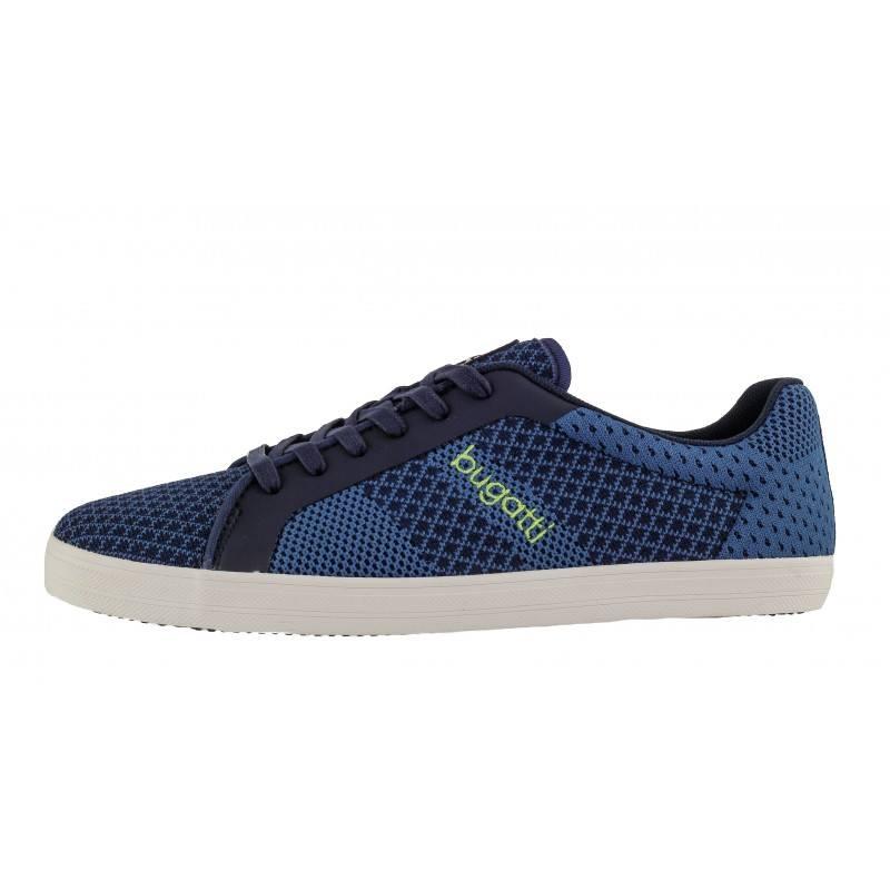 Мъжки спортни обувки Bugatti® мемори пяна сини