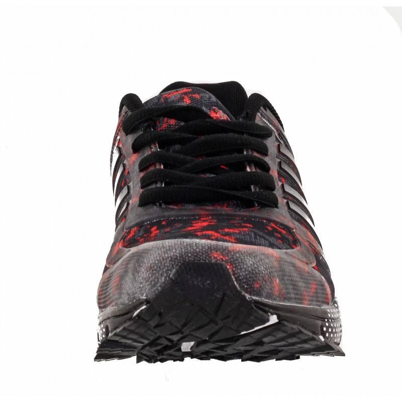 Мъжки маратонки Bulldozer черно-червени