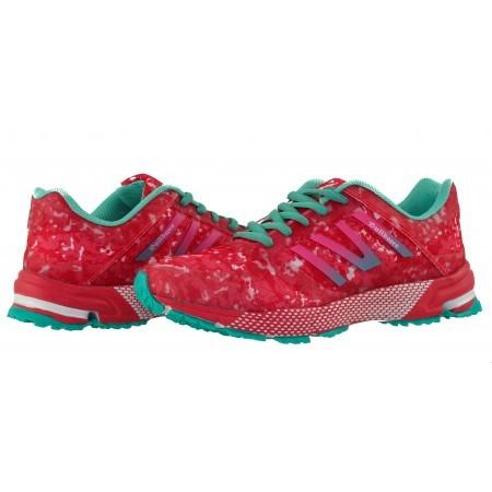 Дамски маратонки Bulldozer розови/ментови