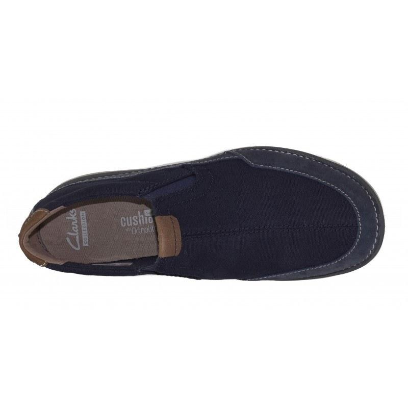 Мъжки ежедневни обувки без връзки Clarks Ripton Free сини