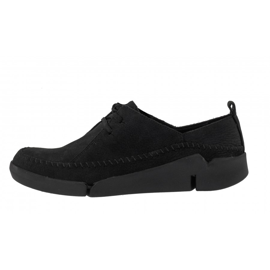 29a992f96d1 ... Дамски спортно-ежедневни обувки Clarks Tri Angel естествена черни ...